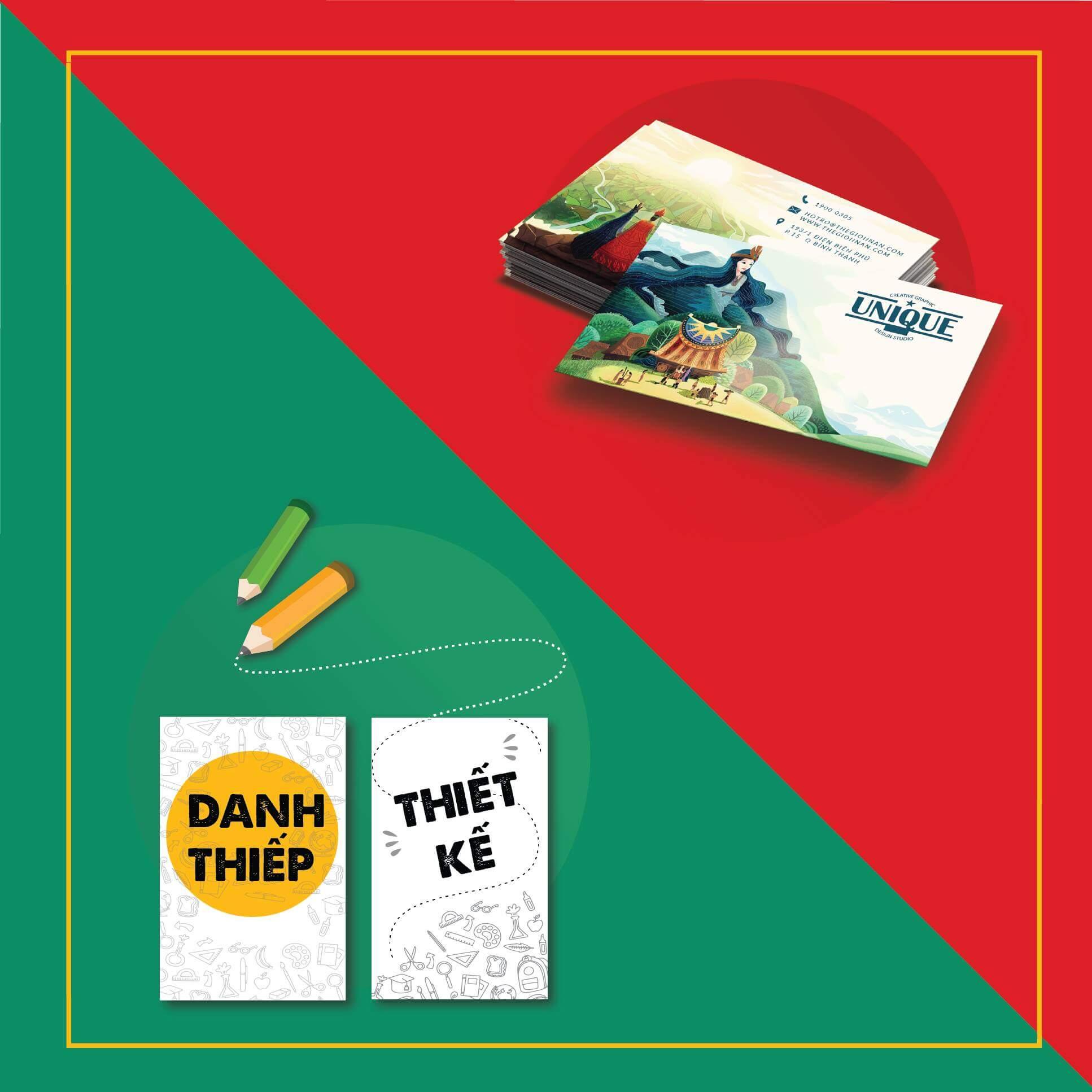 COMBO DANH THIẾP CHUẨN + THIẾT KẾ DANH THIẾP