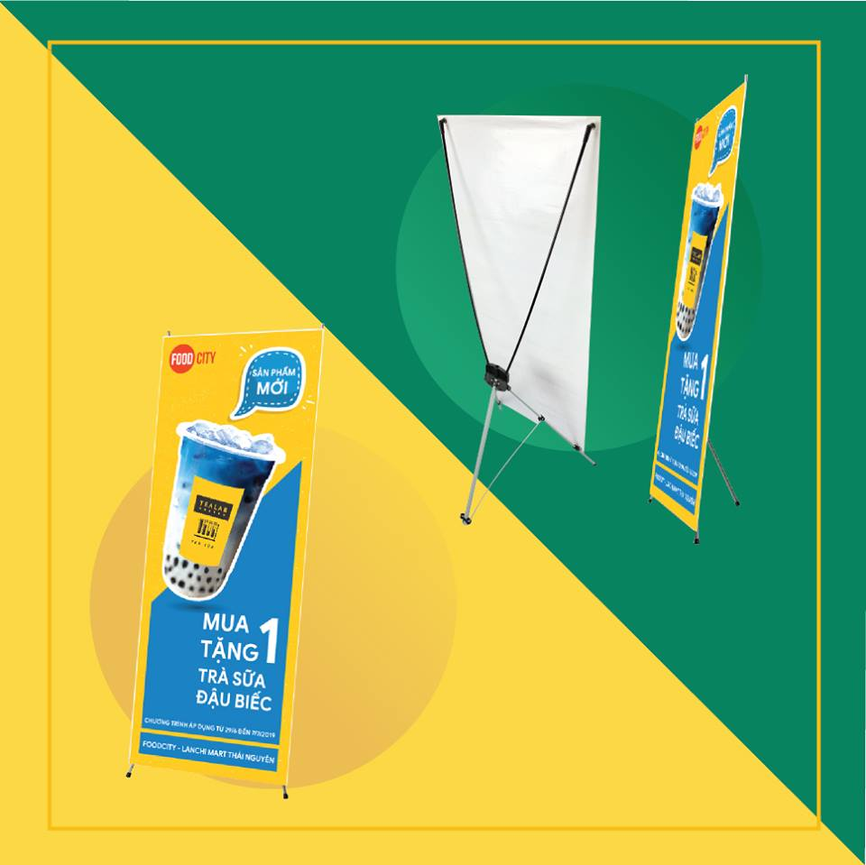 POSTER (80x200) + STANDEE CUỐN TỐT