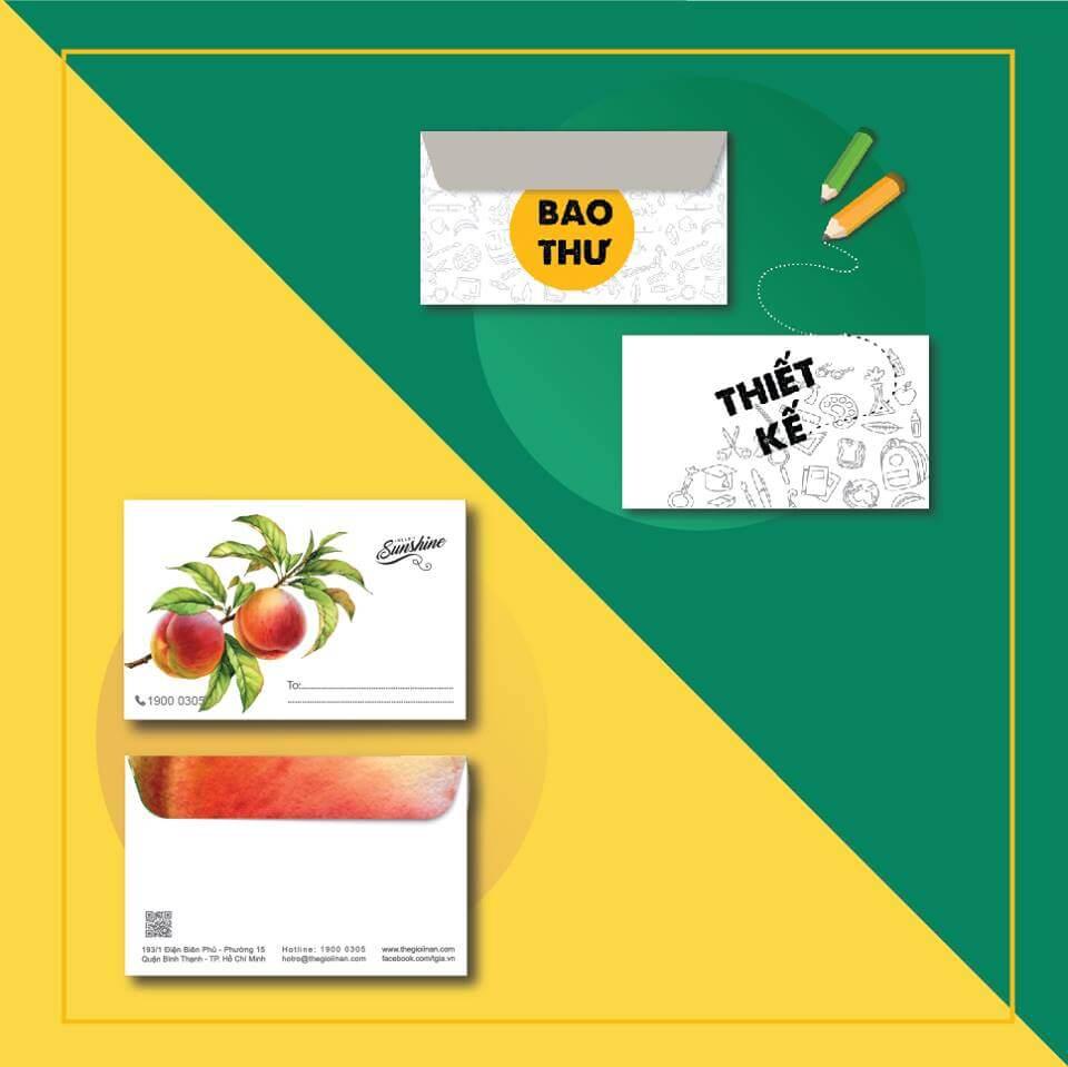 COMBO BAO THƯ TRUNG + THIẾT KẾ BAO THƯ
