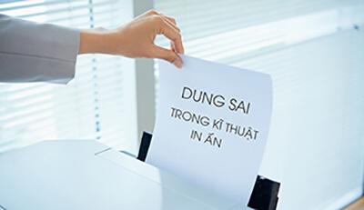 Dung sai trong kỹ thuật in ấn