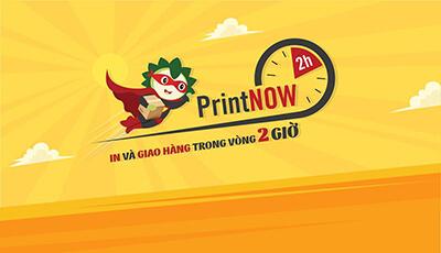 Chương trình PrintNow 2h - giao hàng ngay