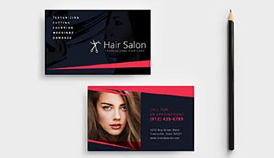 Thiết kế và in ấn name card cho salon chăm sóc tóc