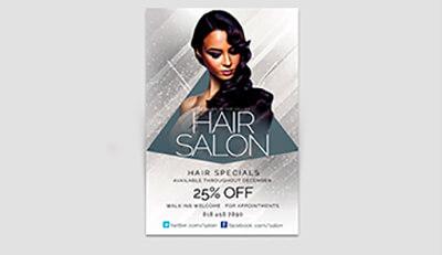3 bí quyết không thể bỏ qua khi in ấn tờ rơi cho salon chăm sóc tóc