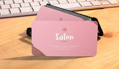 Những lưu ý khi in ấn thẻ nhựa cho salon chăm sóc tóc