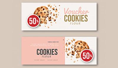 Bí quyết in ấn voucher mang lại doanh thu cho tiệm bánh