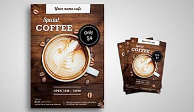 3 bước thiết kế tờ rơi hiệu quả cho quán cà phê