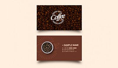 4 bước không thể bỏ qua khi in ấn và thiết kế name card cho quán cà phê