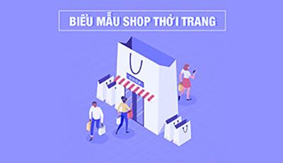 In biểu mẫu cho shop thời trang cần lưu ý những gì?