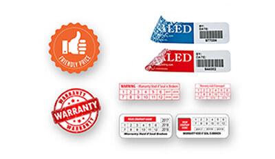 Lưu ý khi in ấn tem bảo hành cho cửa hàng điện thoại và linh kiện điện tử