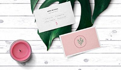 Bí quyết thiết kế và in ấn name card  hiệu quả không ngờ cho spa, thẩm mỹ viện