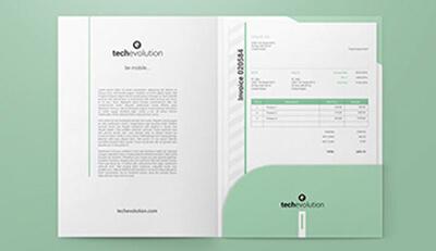 Sự cần thiết của việc thiết kế Bìa đựng hồ sơ (Folder) đẹp cho Doanh nghiệp