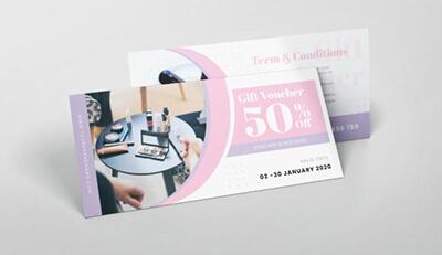 Voucher quảng cáo mỹ phẩm và lợi ích không thể ngờ tới khi sử dụng voucher