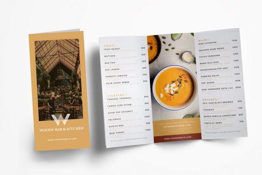 Những điều cần biết khi thiết kế menu, thực đơn