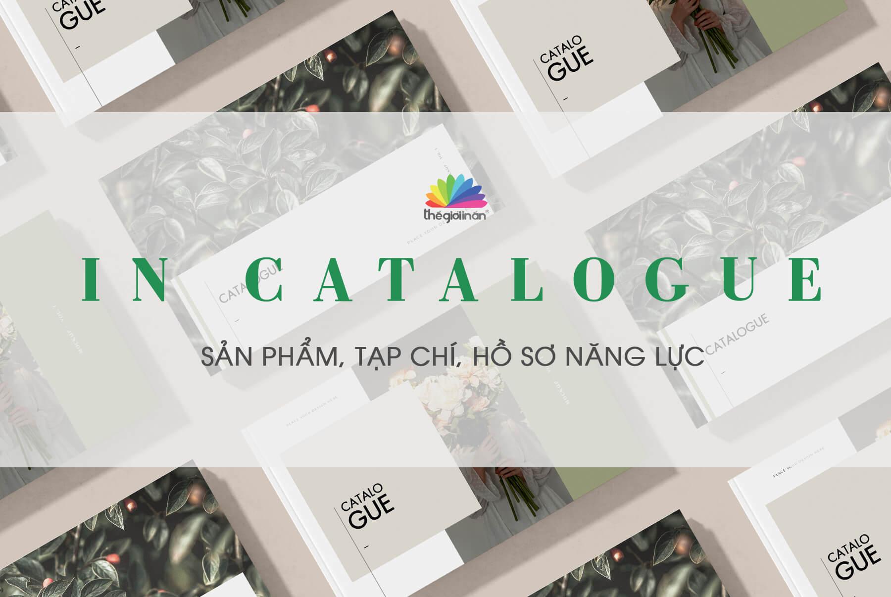 IN CATALOGUE - IN NHANH, CHẤT LƯỢNG VÀ UY TÍN