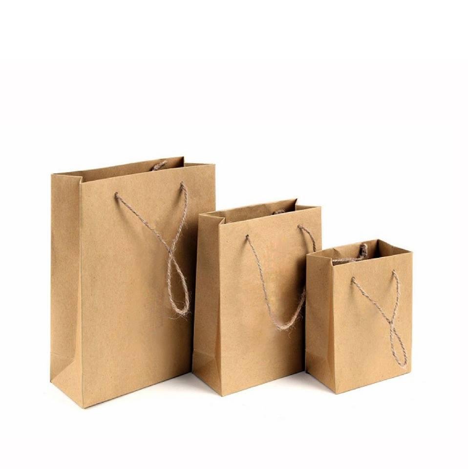 Túi giấy không in