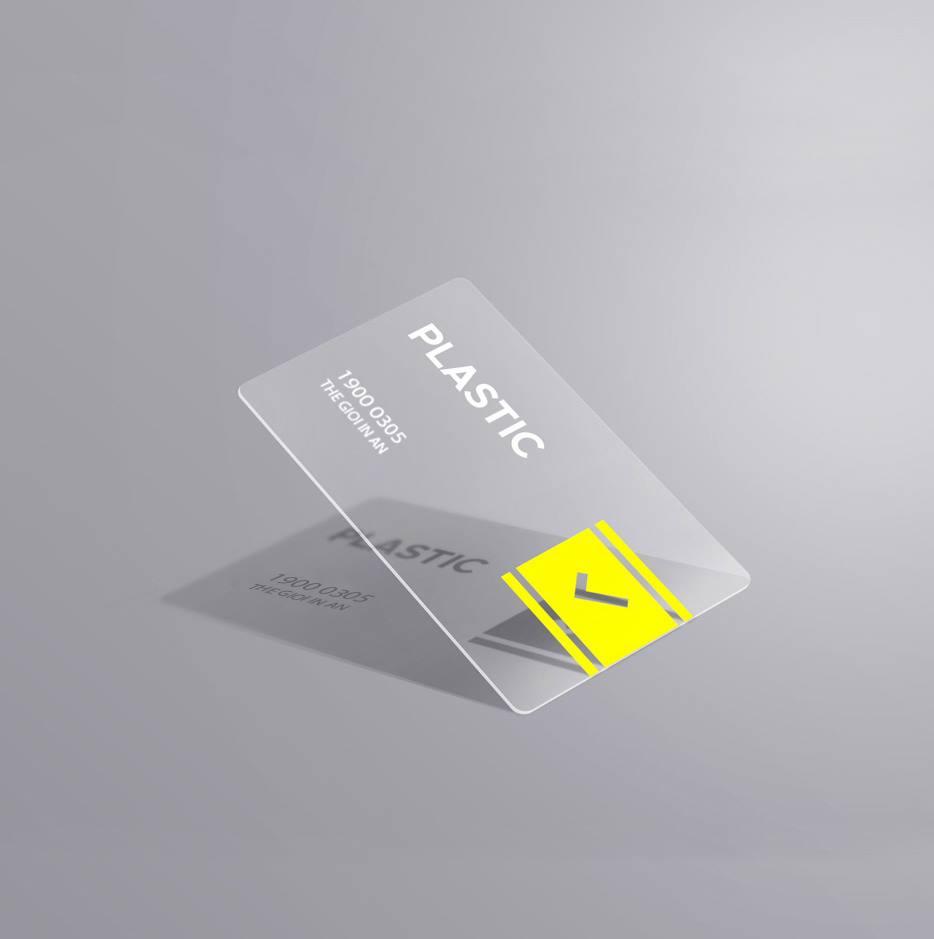 Thẻ nhựa trong