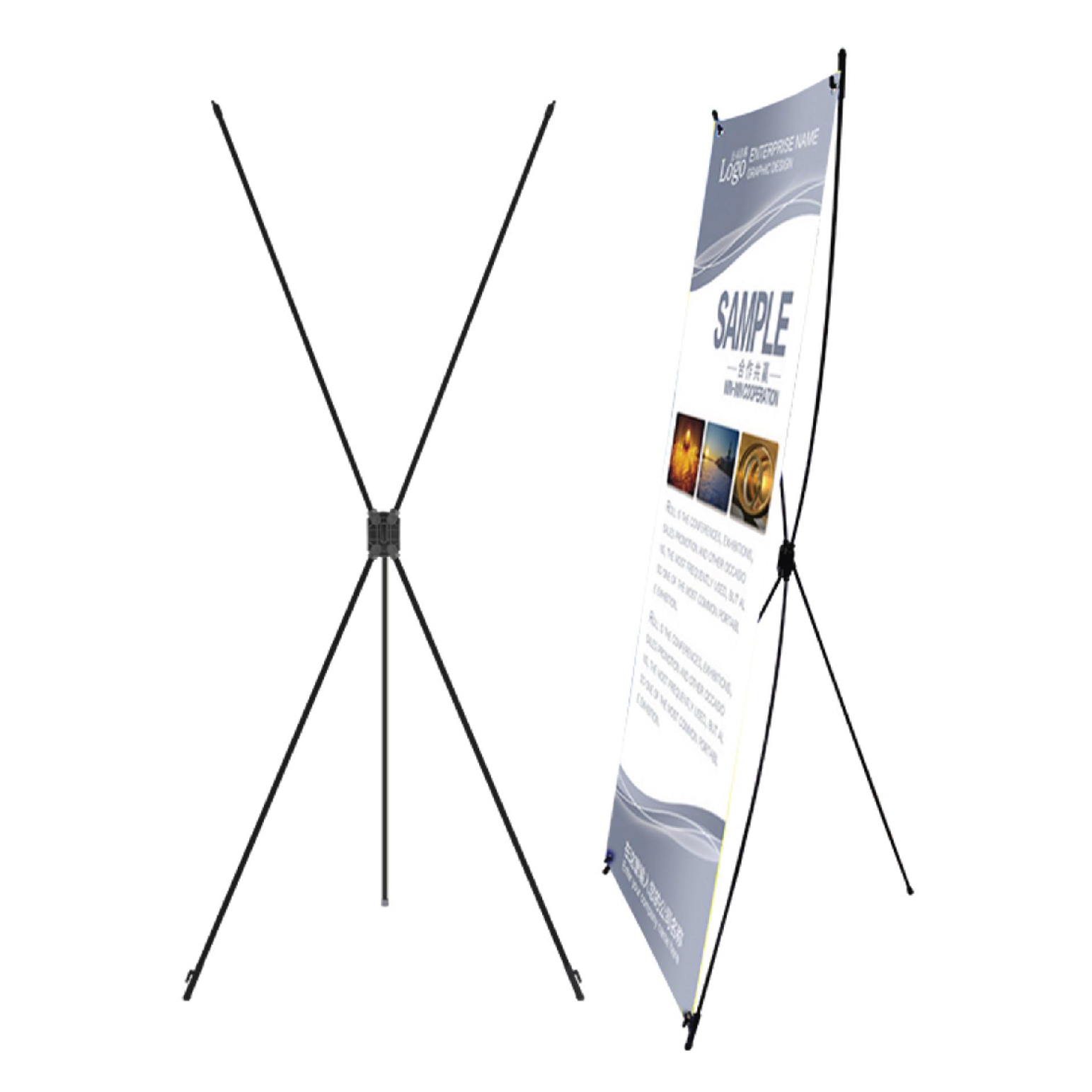 Chân Standee X (0.8x1.8m)