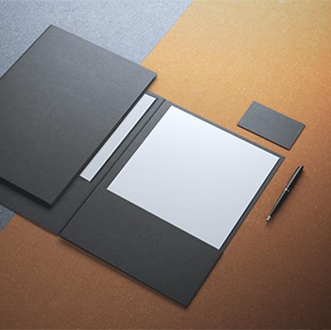 Bìa đựng hồ sơ - Folder 2 tay gấp