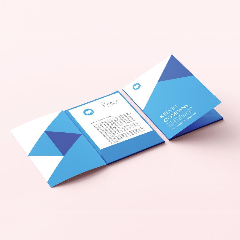 Bìa đựng hồ sơ - Folders 1 tay gấp