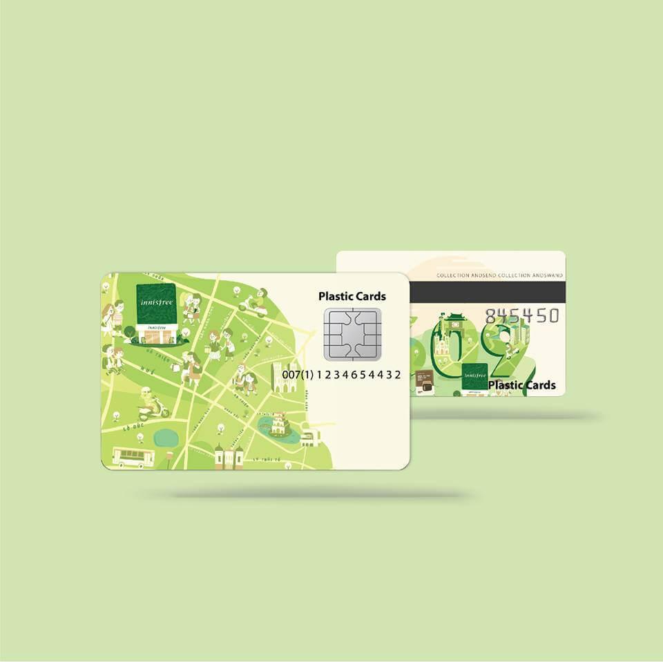 Thiết kế Thẻ Nhựa