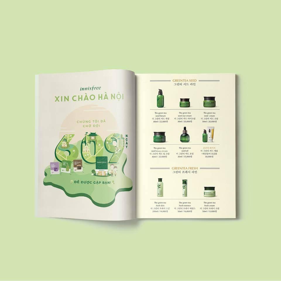 Thiết kế Catalogues - dưới 10 trang